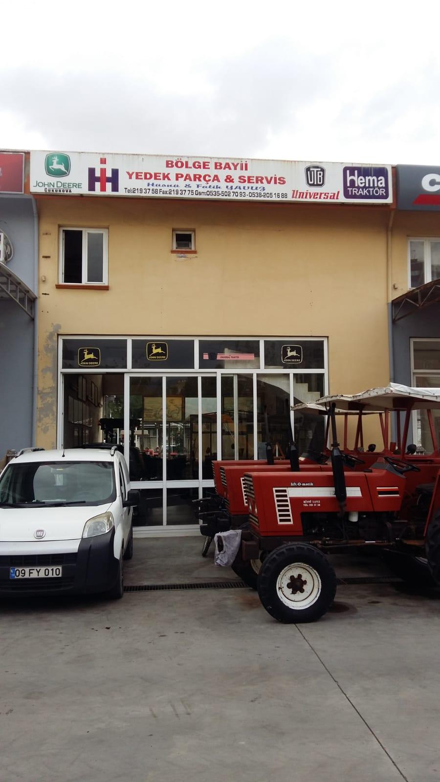 Hüsnü Yavuz Johndeere Traktör Bölge Bayii