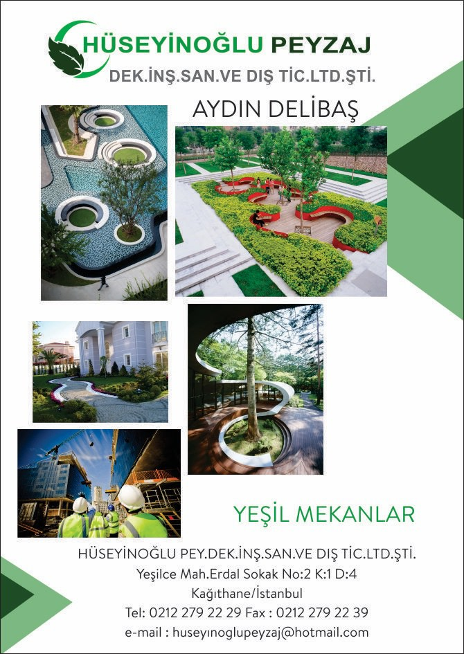 Hüseyinoğlu Peyzaj Dekorasyon İnşaat San Ve Tic.Ltd.Şti