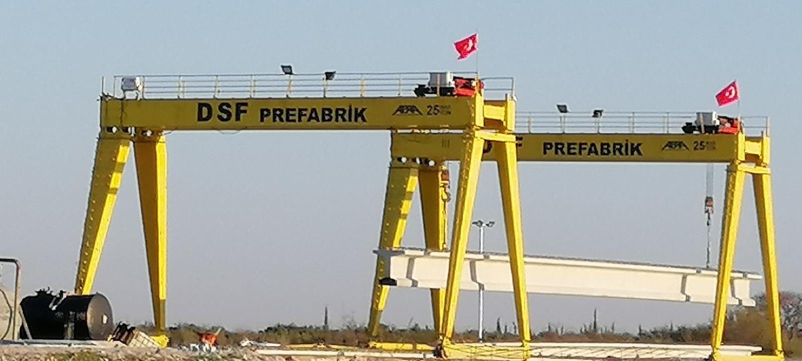 DSF Prefabrik Beton Yapı Elemanları